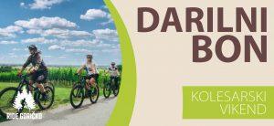darilni bon kolesarski vikend